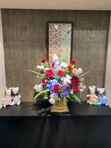 運営懇談会のお花